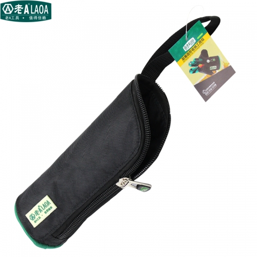 LAOA Black Color Cylinder-shaped Portable Tools Bag