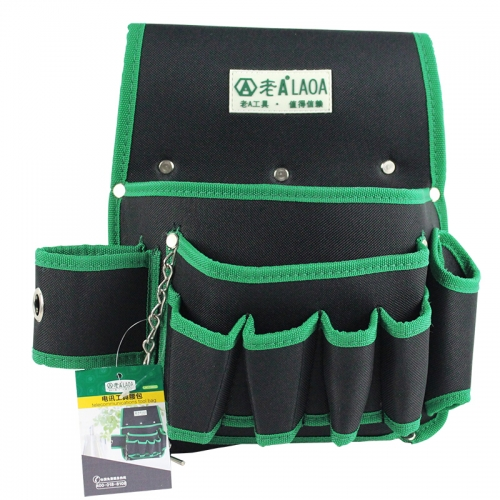 LAOA Water-proof Oxford Telecommunications  Tool Waist Bag +Belt
