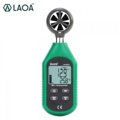 Professional wind-gauge Anemometer Handheld airometer wind speed measuring digital wind speed tester
