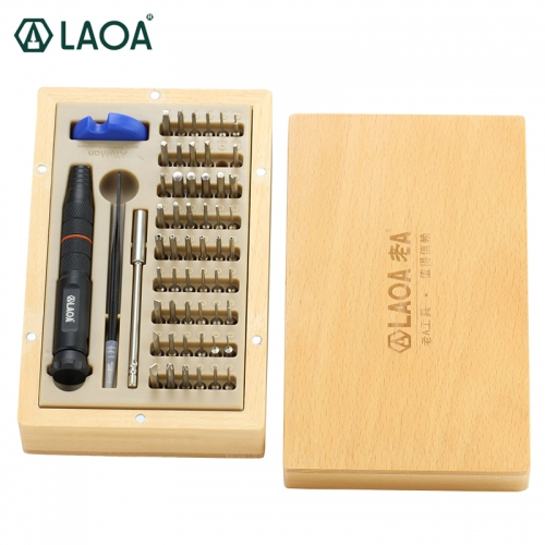 LAOA 58 in 1 Cellphone Repair Set Precise Screwdrivers Set Repair for Phones Computer Repairing Hand Tools